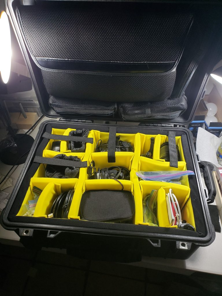 The Pelican 1650 photography case for Christmas 2020.