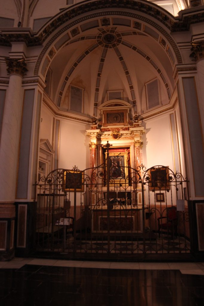 Chapel of the Virgen del Puig in the Cathedral of Valencia.