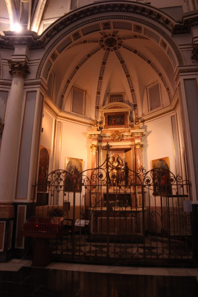 Chapel of San Rafael, Arcángel in the Cathedral of Valencia.