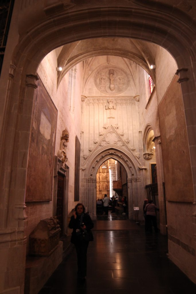 Passageway to the Chapel of the Holy Chalice