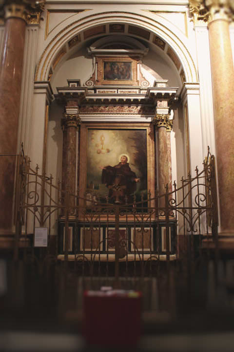 Chapel of San Pascual Bailón in the Cathedral of Valencia.